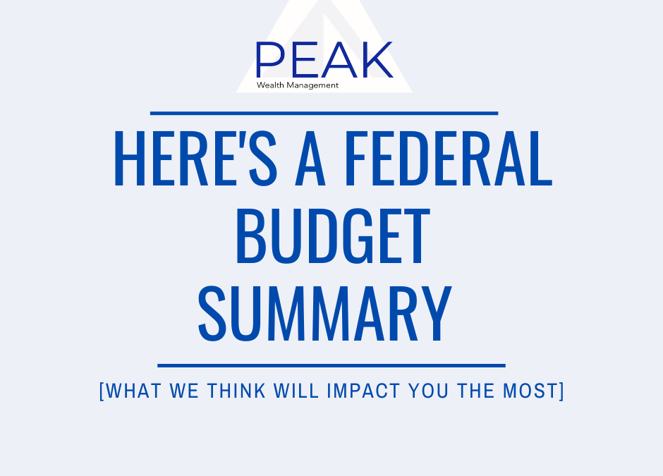 Here's A Federal Budget Summary [What We Think Will Impact You The Most]