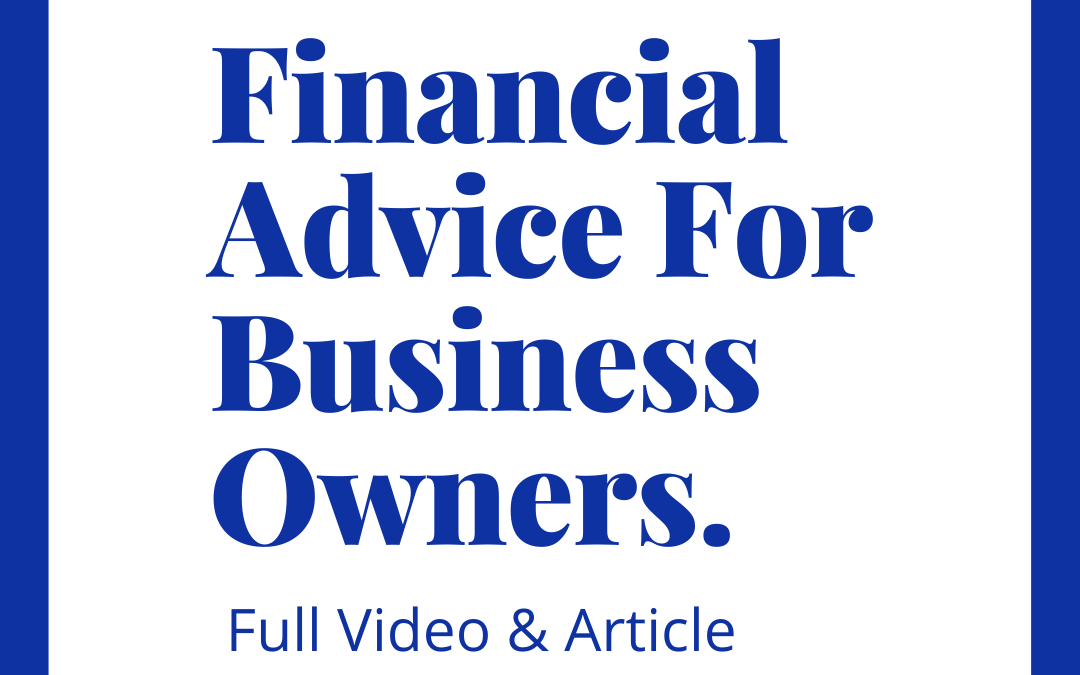 Financial Advice For Business Owners